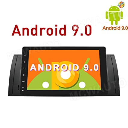 Amazon com: MCWAUTO 9 Inch Android 9 0 Car GPS Radio for BMW E39 E53