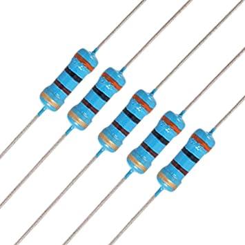 //-5/% Resistors 10x Carbon 1/m ohm 2/Watt