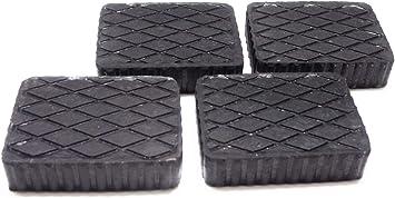 Filaverse Gummiauflage 160x120x40mm Kit Mit 4 Gummiklotz Für Kfz Hebebühnen Abmessungen Des Gummiklotzes Auto