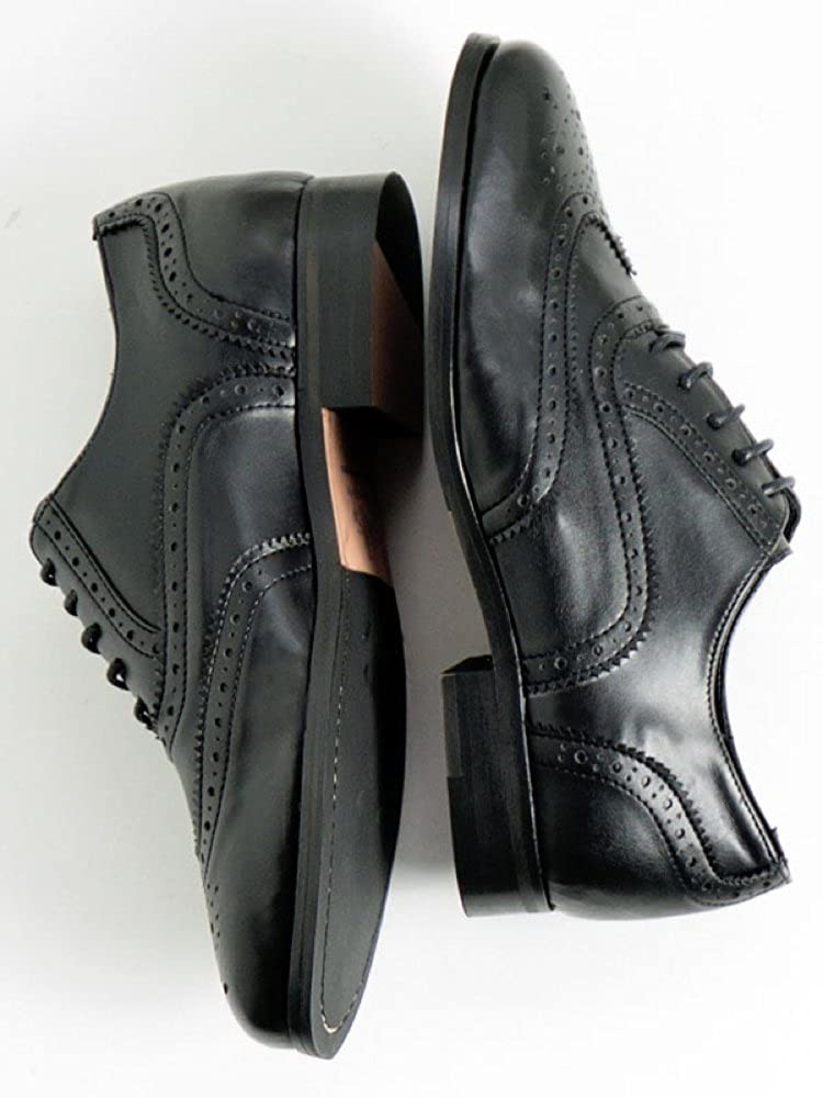 Will's Vegan Shoes Oxford Brogues Black  -