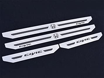 - Type R Emblem Right-Hand Drive Civic IX and Type R IV FK2 Air Vent Emblem Cover 2pc Stainless Steel Plate Interior Dashboard Dash Trim Kit Accessories