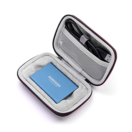 Seracle - Funda rígida para Samsung T5/T3/T1 (250 GB, 500 GB, 1 TB ...