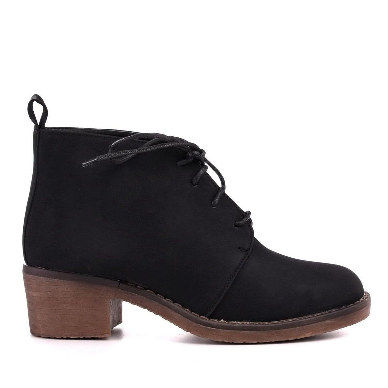 Zapatos bajos de mujer marrón oscuro 37 (AY-32) eCILU