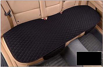 Glitzfas Auto Rutschfest Sitzauflagen Sitzkissen Leinen Universal Auto Vordersitz Und Rücksitz Kissen Bequem Und Atmungsaktiv Auto