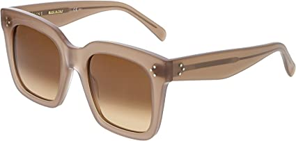 0afdc5c60a10 Amazon.com  Celine 41076 S Sunglass-0GKY Opal Brown (PP Brown ...