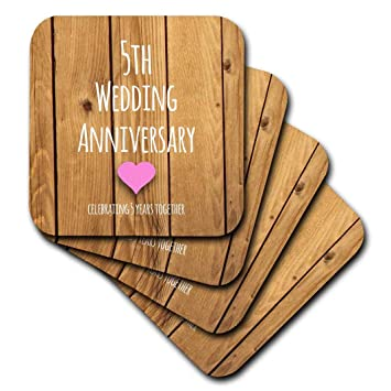 Inspirationzstore Anlasse 5 Hochzeitstag Geschenk Holz 5 Jahre