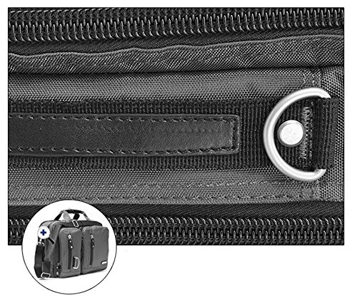 Bronze Times (TM) 17.3 Inch Business Travel Gear Laptop Shoulder Bag Backpack (Black) by Bronze Times (Image #5)