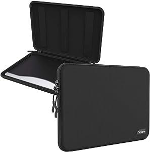 Smatree Hard Shell Laptop Sleeve Bag Compatible with MacBook Pro 16inch/ 2019/2018/2017 MacBook Pro 15.4 inch /15 inch Tablet Sleeve Case
