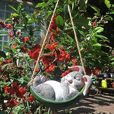 Decoración creativa para jardín al aire libre, decoración de jardín, decoración de jardín, adorno de animales de resina para manualidades, abalorio de koala: Amazon.es: Bricolaje y herramientas