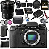 Fujifilm X-T2 Mirrorless Digital Camera (Body Only) 16519247 + Fujifilm XF 10-24mm f/4 R OIS Lens 16412188 Bundle