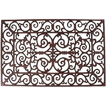 Esschert Design Doormat In Antique Brown   Rectangle