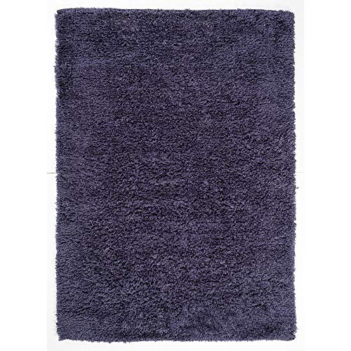 OCM Navy Soft Micro Shag Accent Rug, Perfect for College Residence Hall Dorm Rooms, bedrooms or Elsewhere in The Home