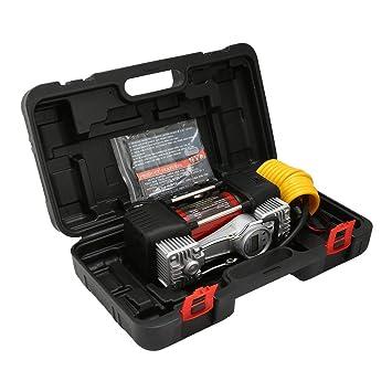 Sairis 12V Compresor de aire digital automático 150Psi Inflador de neumáticos para automóvil Compresor de aire portátil con indicador de pantalla digital ...