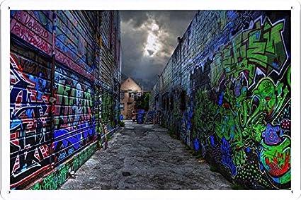 Amazon.com: Cartel Graffiti All Over Back Alley (7.9 x 11.8 ...