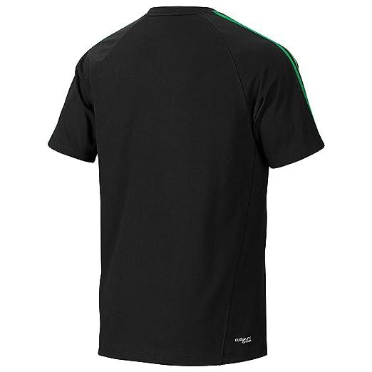 Adidas CR Ess 3s Crew Tee Herren T Shirts Tees Sport