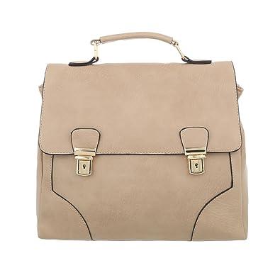 Damen Tasche Handtasche Used Schultertasche Schultertaschen Umhängetasche Shopper Tasche Henkeltasche Beuteltasche Hellrosa Schuhcity24 X0G8S1n