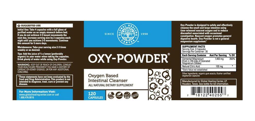 oxy powder sverige