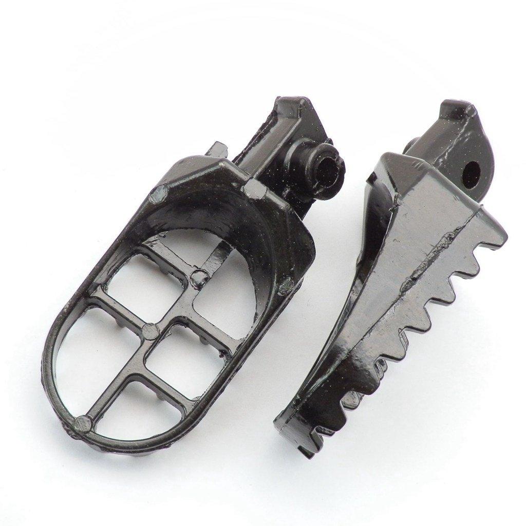 Repose-pieds Yunshuo Piquets de pied pour PW 50/80/Pw50/Dirt bike Pit 110/125/140