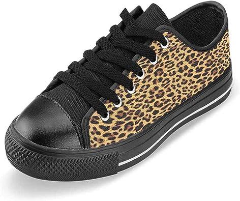 Women's Leopard Canvas Sneakers Fashion