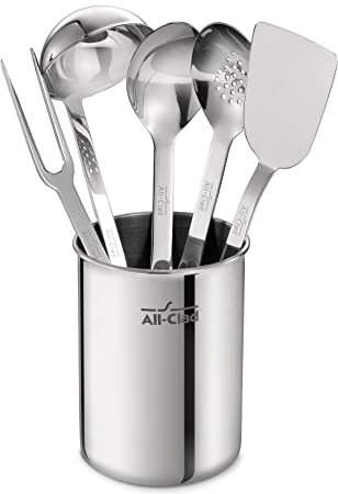 All-Clad TSET1 Stainless Steel Kitchen Tool Set