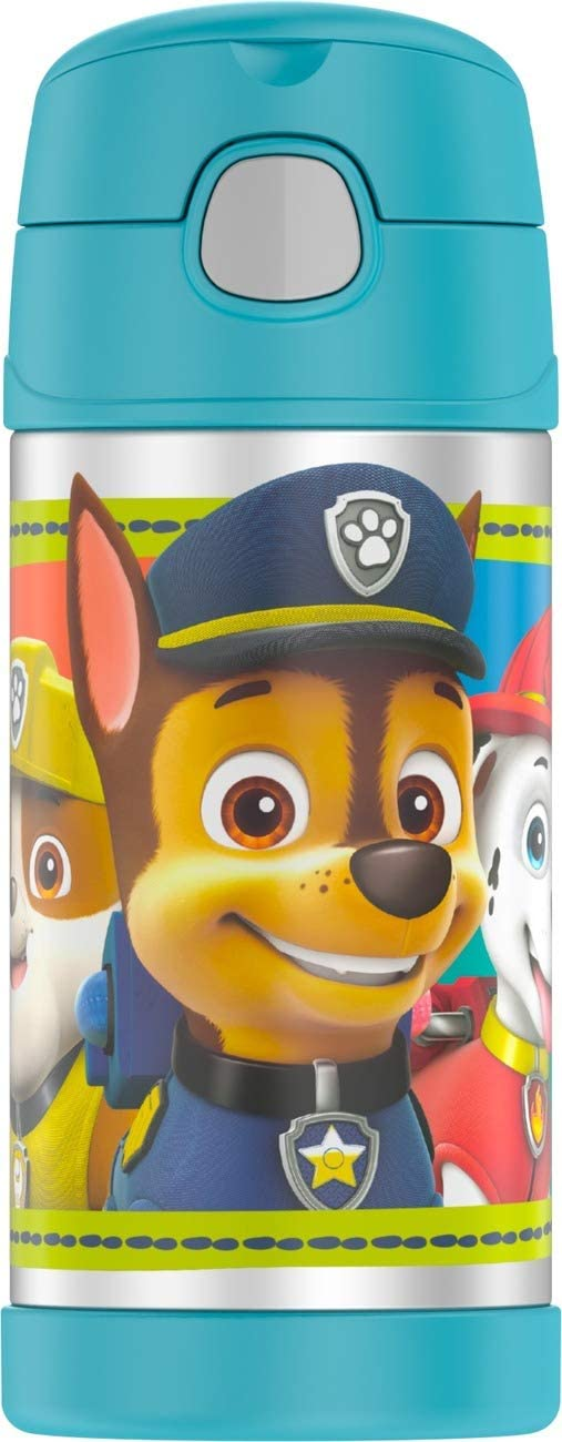 Thermos Funtainer 12 Ounce Bottle  Paw Patrol