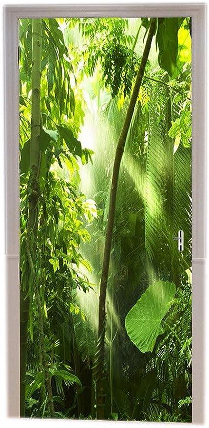 FORÊT VERT Paysage Nature papier peint décoration murale mur Imprimer Decal