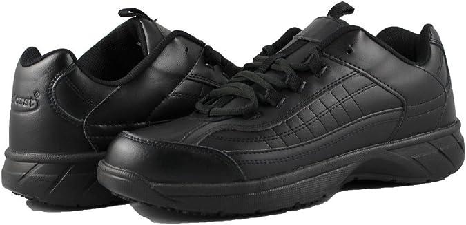 Non Slip Composite Toe Waiter Shoes