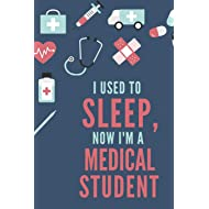 "Medical Student Notebook: 120 College Ruled Pages - 6"" x 9"" (Diary, Journal, Composition Book, Writing Tablet) - Gift For a Future Doctor in Medical School"