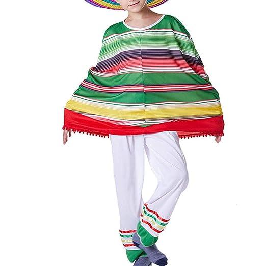 1 juego Conjunto de trajes mexicanos Disfraces Pantalones ...