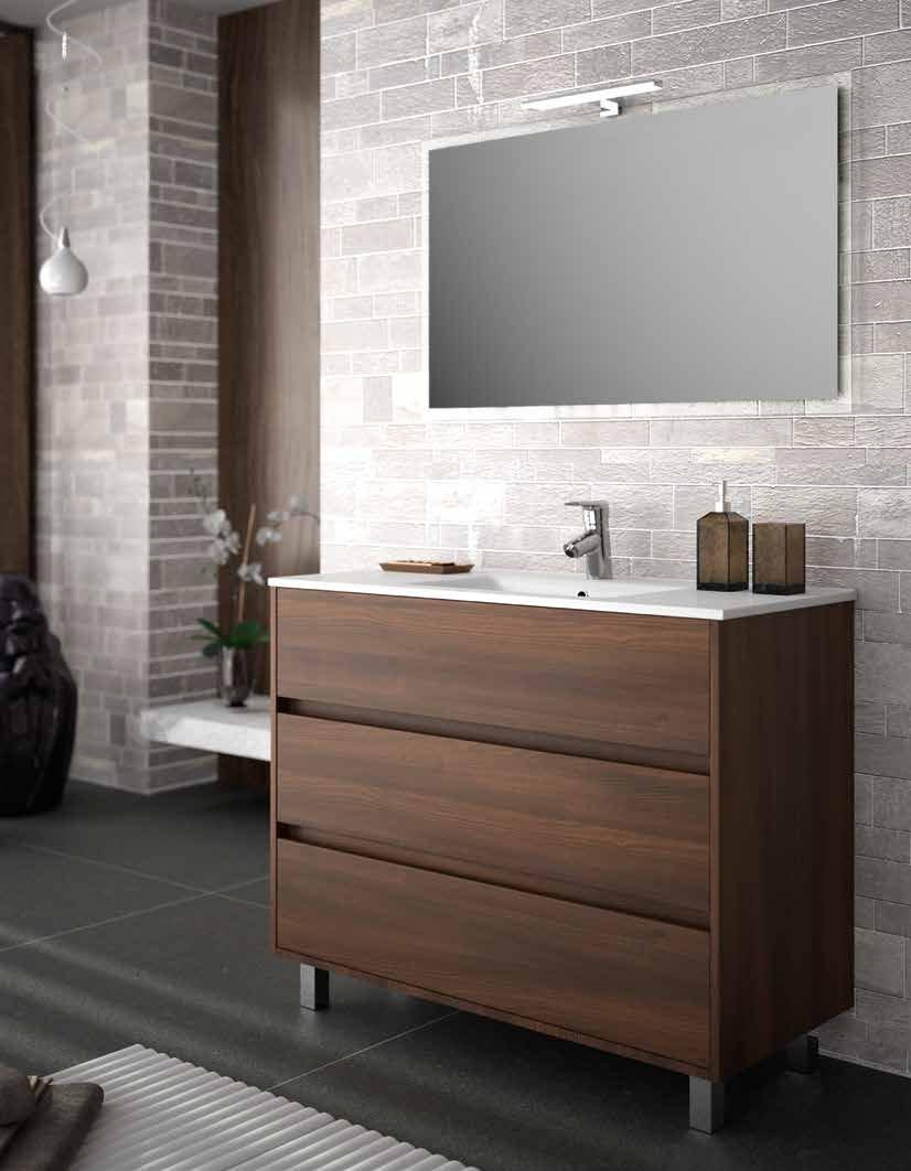 Jindoli Salle De Bain ~ ensemble meuble salle de bain 100 cm poser au sol arenys 1000 3