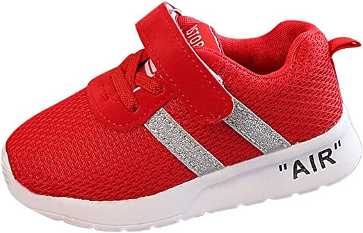 UK Baby Kids Girls Boys Sneaker Toddler Child Sports Running Trainers Shoes Size