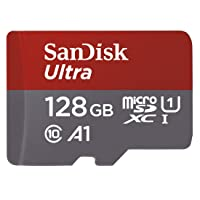 Deals on Sandisk Ultra 128GB Micro SDXC UHS-I Card w/Adapter