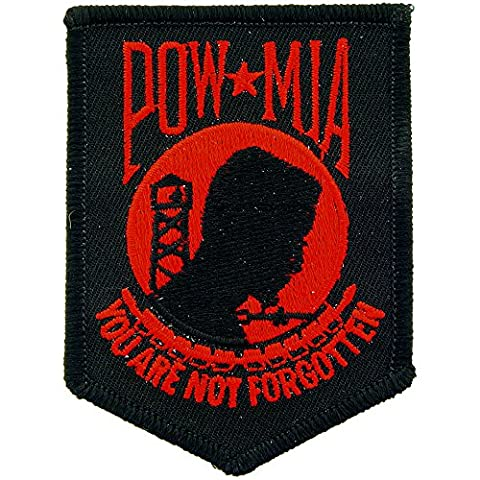 POW MIA You Are Not Forgotten Patch Military Gifts Patches for Jackets Hats Vests - Military Vet Patch