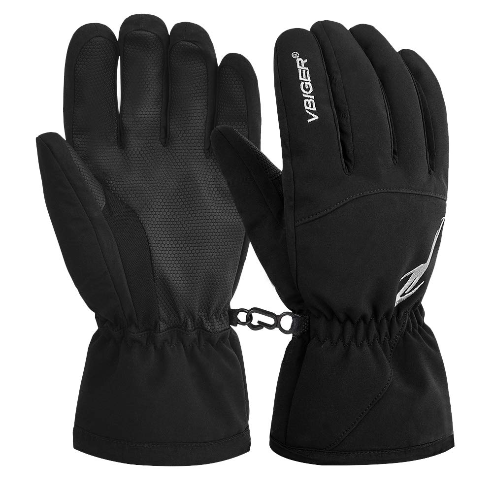 Winter Ski Gloves Waterproof Outdoors Gloves-Medium