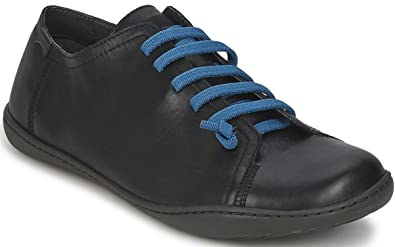 Camper Peu Cami 17665 Black Blue Mens Leather Lo Trainers Shoes Boots-44
