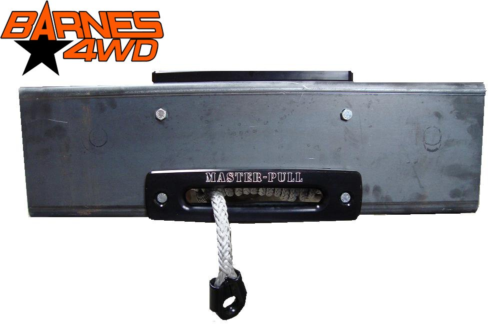Barnes 4WD Dual Pull Winch Plate (26 inches) by Barnes 4WD
