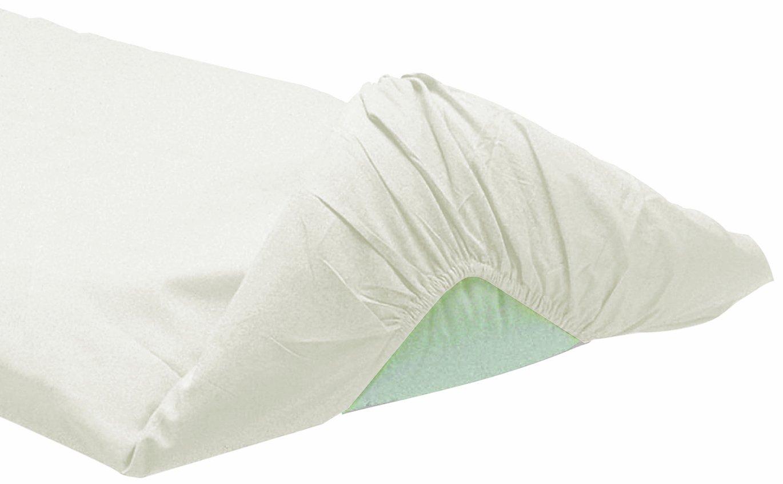 ITALBABY 020.0060/Bettlaken unter geeicht f/ür Kinderbett hellblau
