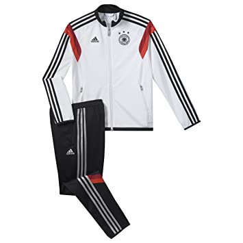 adidas Performance Kinder Trainingsanzug rot 128:
