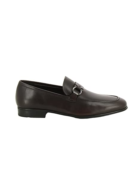 Salvatore Ferragamo - Mocasines para hombre marrón marrón IT - Marke Größe, color marrón, talla 41.5 IT - Marke Größe 8.5: Amazon.es: Zapatos y complementos