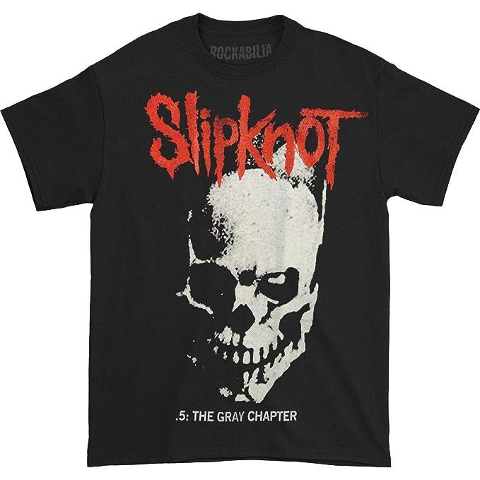 Amazon.com: Bravado Slipknot Skull & Tribal Black T-Shirt ...