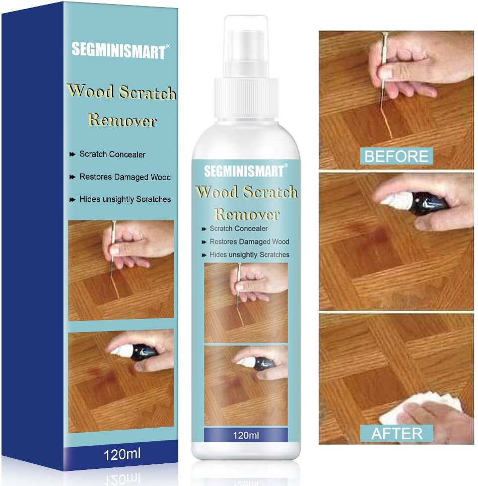 Wood Scratch Remover,Fast Acting Wood Scratch Repair,Floor and Furniture Repair Kit Cover Wood Scratch Touch Up Restorer of Wooden Table, Door, Cabinet,Veneer