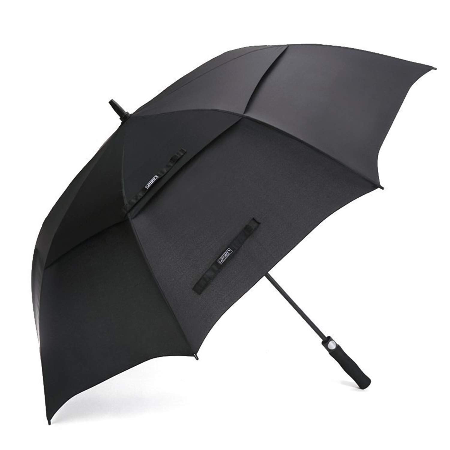 457444077cb5 G4Free 54/62 Inch Automatic Open Golf Umbrella Extra Large Oversize Double  Canopy Vented Windproof Waterproof Stick Umbrellas