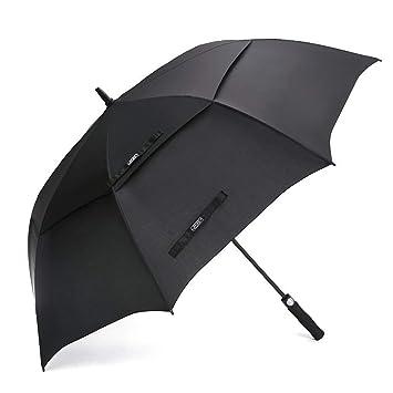 G4Free 54/62/68 Inch Automatische Öffnen Golf Schirme Extra große Übergroß Doppelt Überdachung Belüftet Winddicht Wasserdicht