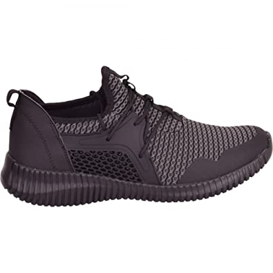 8fef9ba9788 Mens 'High Quality' Designer Shoes Lightweight Casual Fashion Trainers Gym  Size