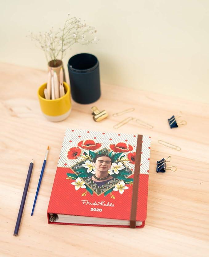 Amazon.com : Frida Kahlo 2019/2020 Premium 17 Month Week to ...