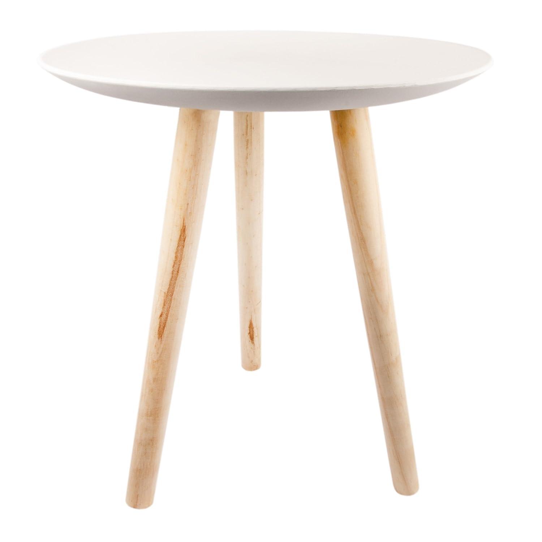 Fabelhaft Couchtisch Holz Rund Ideen Von E Vitamin Beistelltisch Weiß Tisch Sofatisch Drei