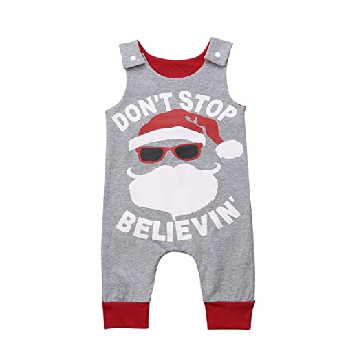 cabf750e656f Amazon.com  Muasaaluxi Newborn Toddler Baby Kid Girl Boy Christmas ...