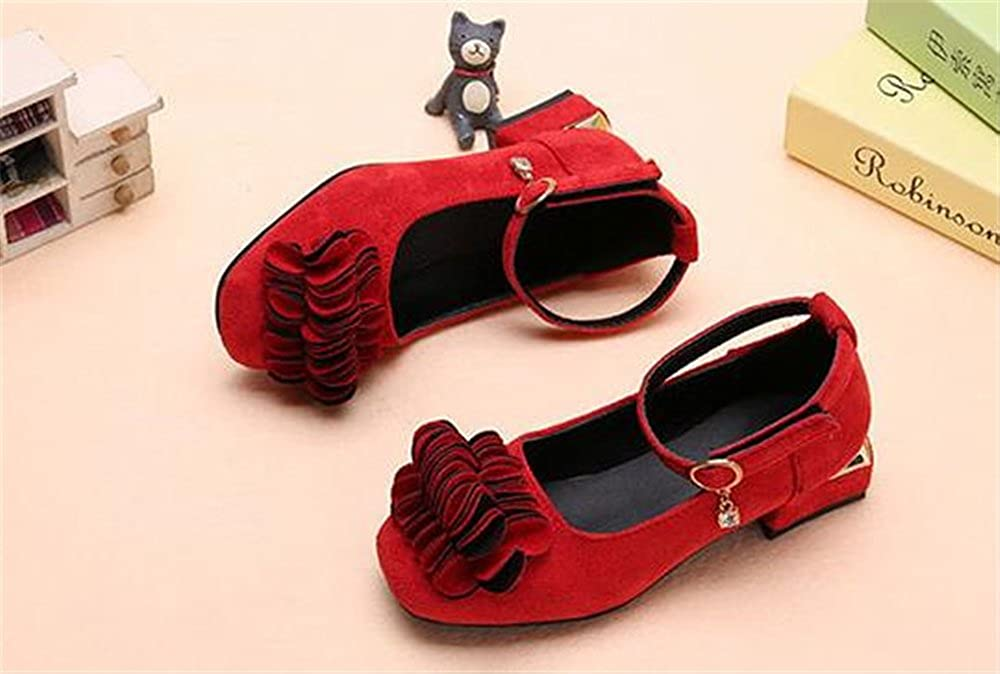 Premium Quality coollight Toddler Shoes Flower Punch Mary Jane Toddler Girl Shoes
