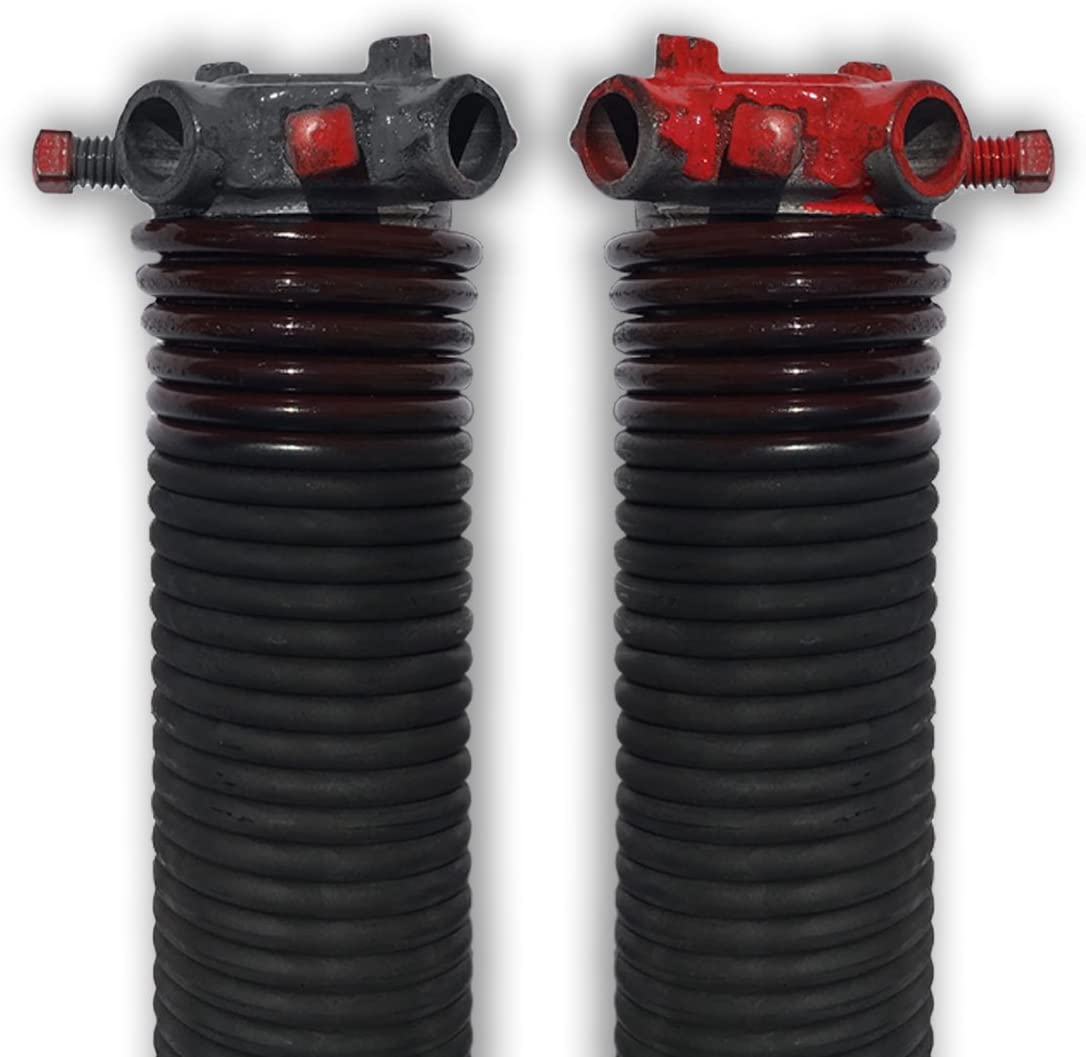 DURA-LIFT .234 x 1.75 x 31 Torsion Garage Springs Brown, Left /& Right Wound