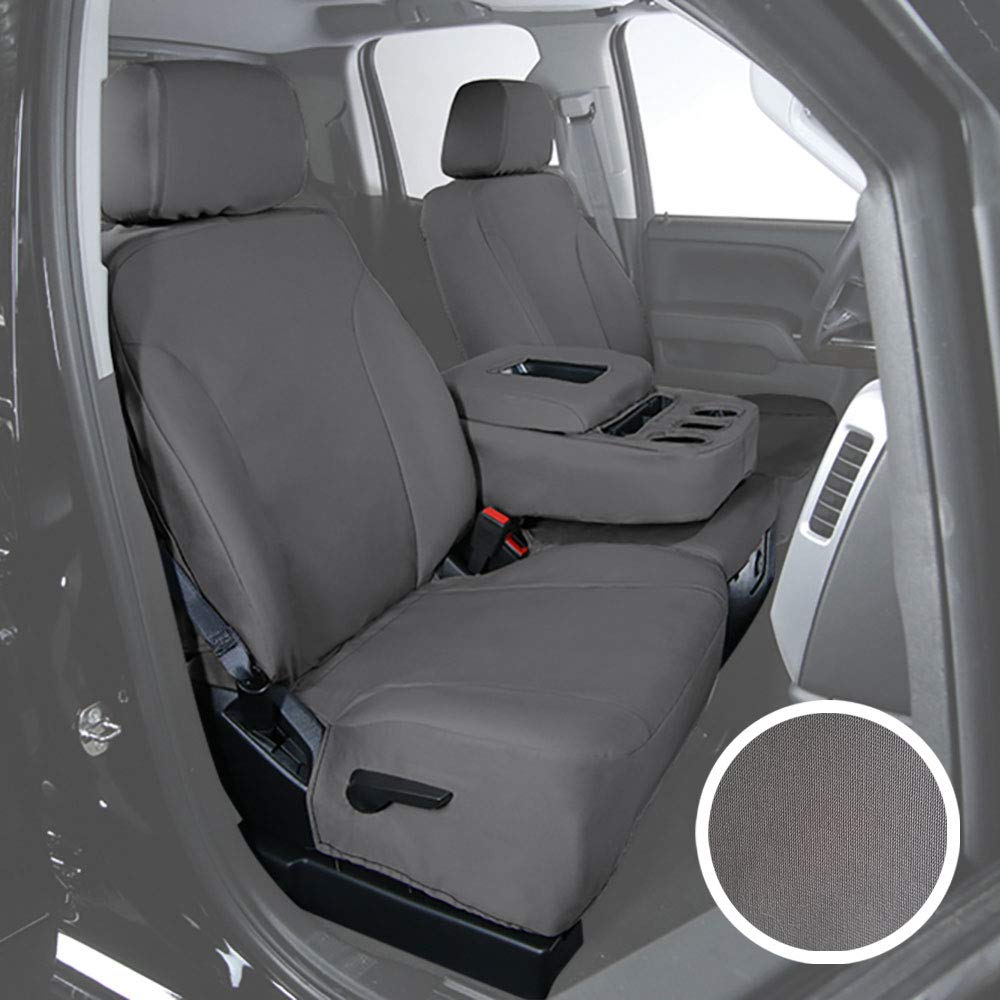 Ford Saddleman A 04987-03 Blue Rugged Canvas Custom Seat Cover Fits
